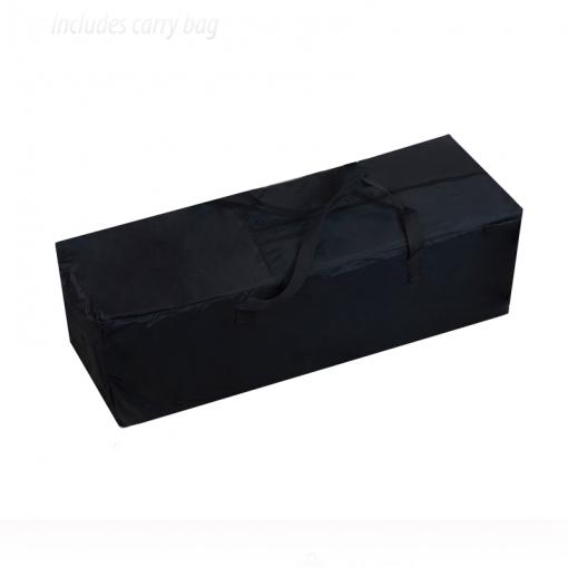 Bolsa de transporte de la cuna de viaje Aluminio Negra