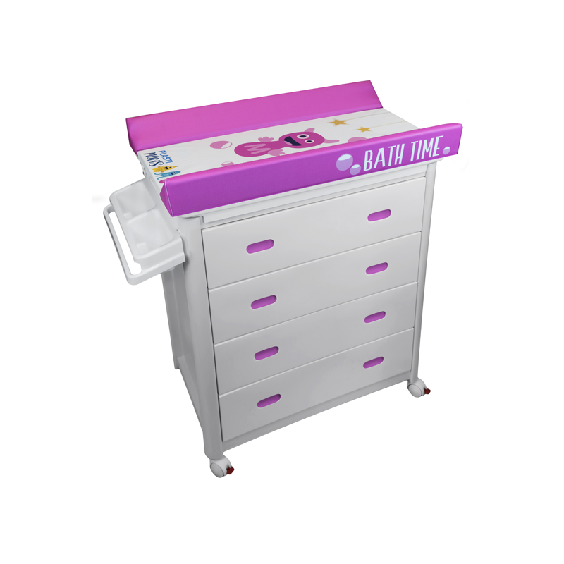 White Baby Bath + Plastimons Changing Unit