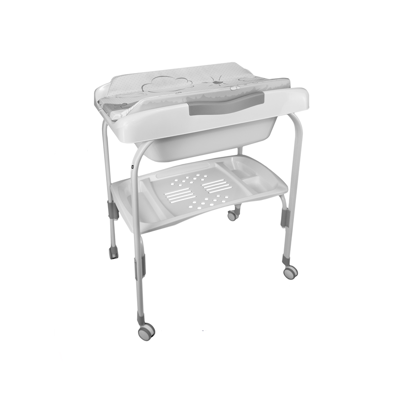 Anatomic Baby Bath + Stork Changer
