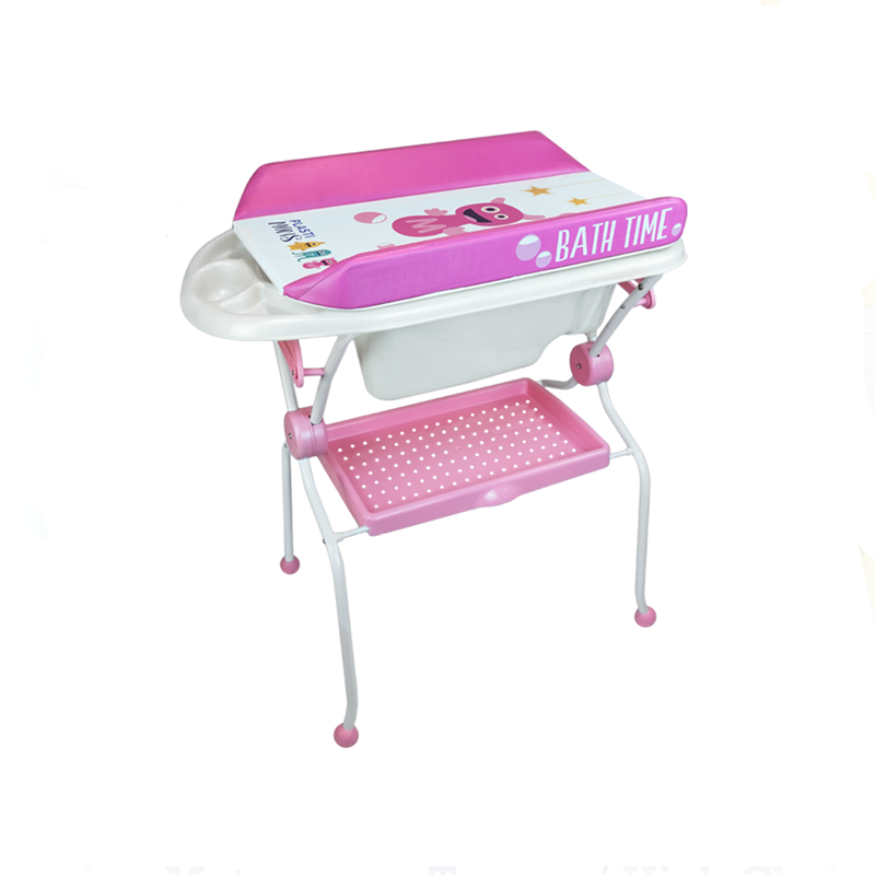 Folding Baby Bath + Plastimons Changer Anatomic Bathtub