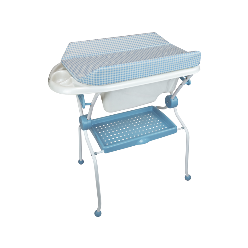 Folding Baby Bath + Vichy Changer Anatomic Bathtub