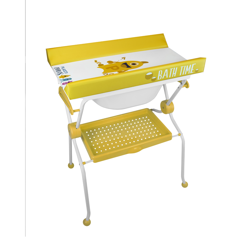 Folding Baby Bath + Plastimons Changer