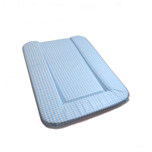 Cambiador Flexible Rubino Vichy Azul