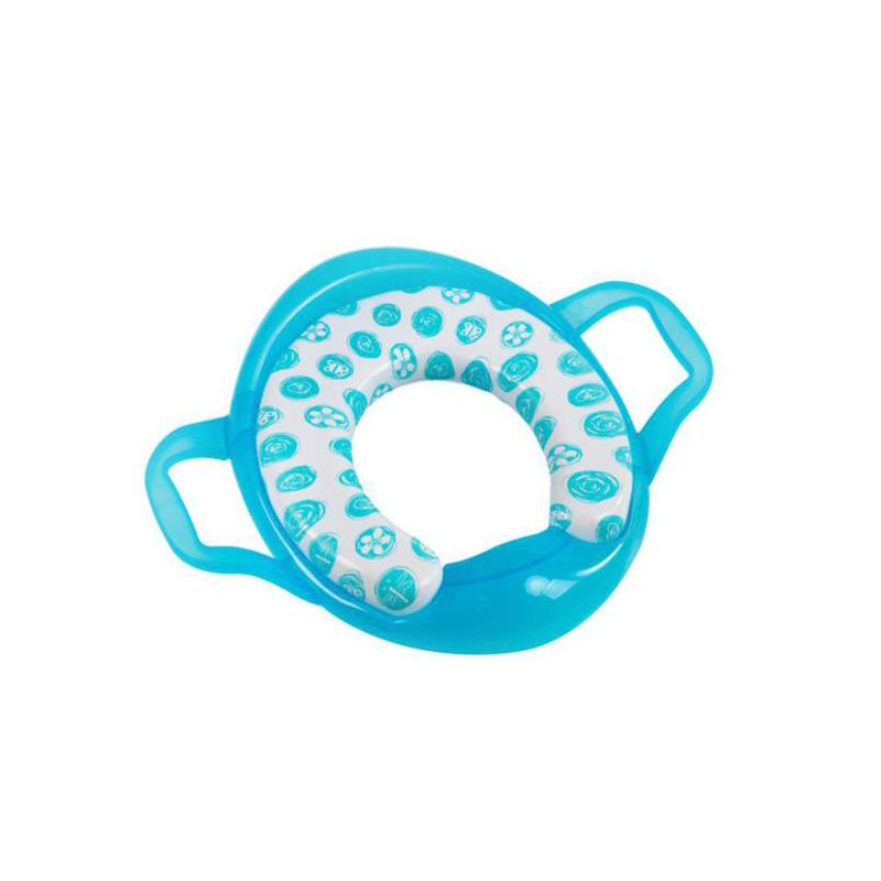 Reductor WC con asas Azul