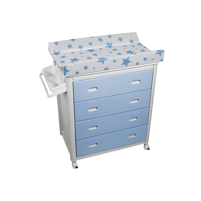 Blue Baby Bath + Blue Stars Changing Unit
