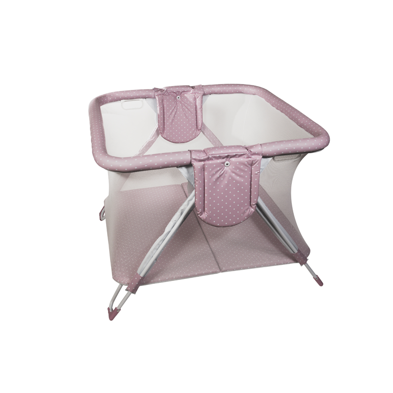 Pink Dots Twin American Playpen