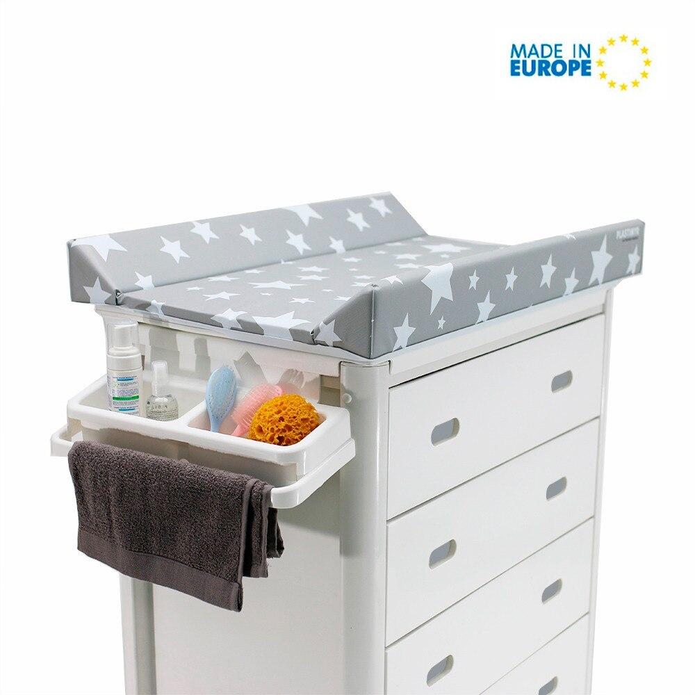 bañera cambiador cajones